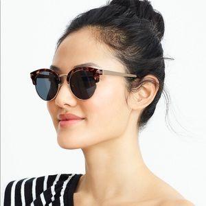 NWT J CREW sunglasses in tortoise 100% UV protect